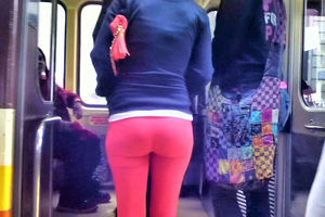 Vip public culo and spandex, watch..