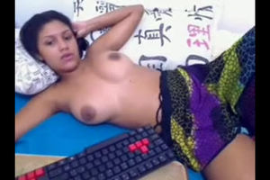 Ultra-cute desi young lady cam skype..