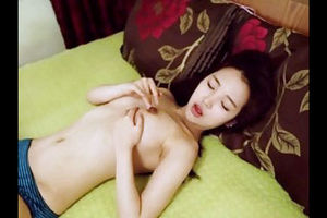 Korean  squashing her super-cute fun..