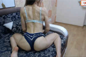 Inexperienced damsel woman with..